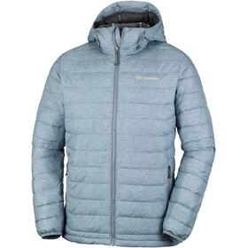 Columbia Powder Lite Hooded Jacket Men Grey Ash Heather